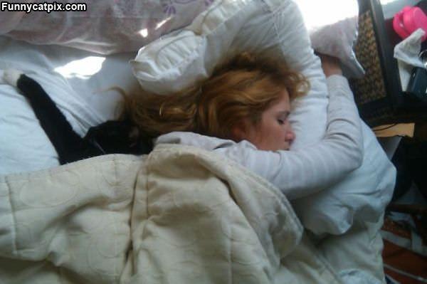 Asleep With Kitty