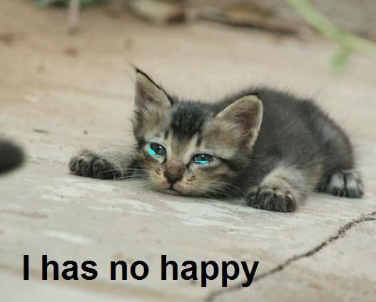 Has No Happy