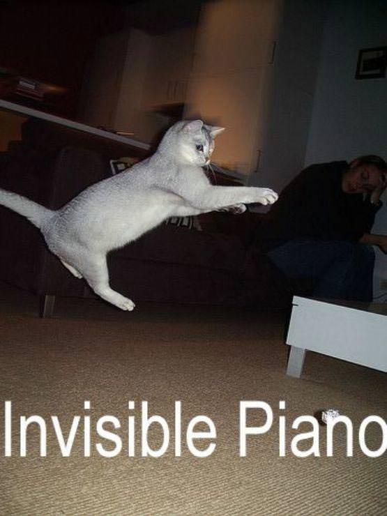 Invisible Piano