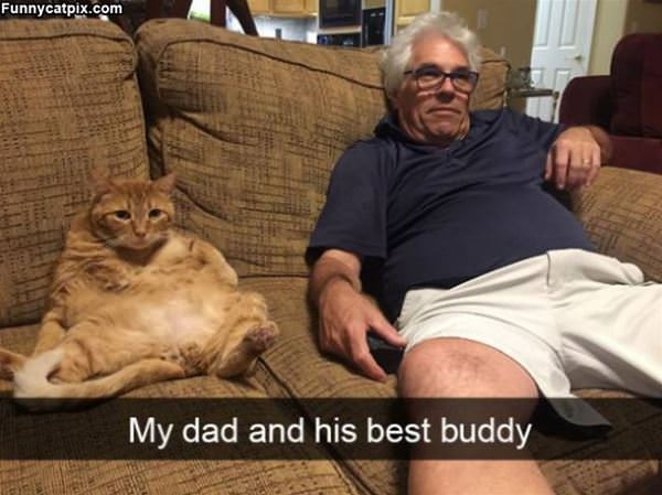 My Dad And His Buddy